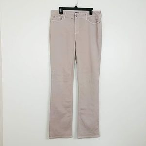 NYDJ Marilyn Straight Jeans High Rise Pink #3733